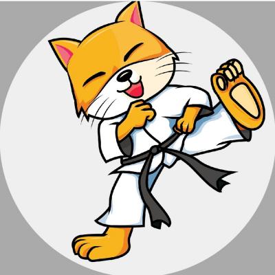 Karatekatze MIKA